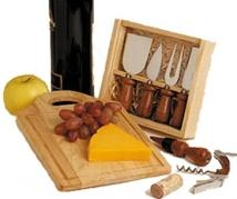 Chicago Cutlery 8-Piece Wine & Cheese Set