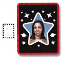 Photo Frame Magnets - Star - .020""