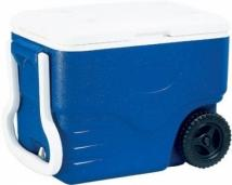 Coleman 40 Quart Blue Wheeled Cool