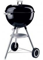 18.5 Inch 1-Touch Silver Charcoal Grill