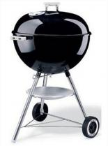 22.5 Inch 1-Touch Silver Charcoal Grill