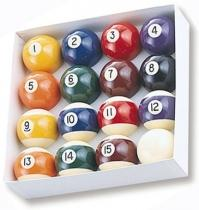 Minnesota Fats Billiard Ball Set