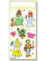 Fun & Fantasy Stickers - Prince & Princess