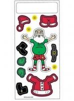 Peel N Play Stickers - Santa