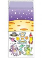 One Color Peel N Play Stickers - Aliens