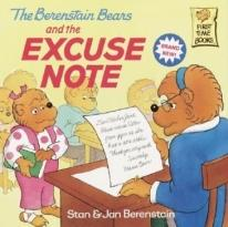 Children: The Berenstain Bears & The Excuse Note