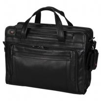 Parliament Expandable Brief With Removable Laptop Sleeve