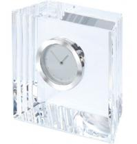 Square Shaped Crystal/Built in Clock