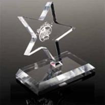 Clear Dancing Star Award - Laser