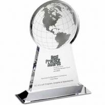 Tall Globe Award - Silkscreen