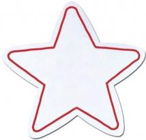 Stock Shaped Magnets - 5 - Point Star