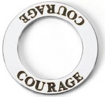 Declaration Necklace - Courage