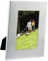 "4"" X 6"" Basic Brushed Aluminum Frame"