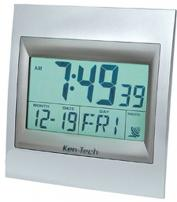 Radio Controlled Atomic LCD Wall Clock