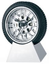 Tire Alarm Clock With Metal Base