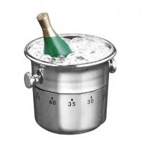 60 Minute Kitchen Timer - Champagne in Bucket