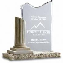Waterfall Column Award - Laser