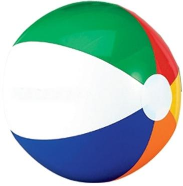 "16"" Six Color Beach Ball"