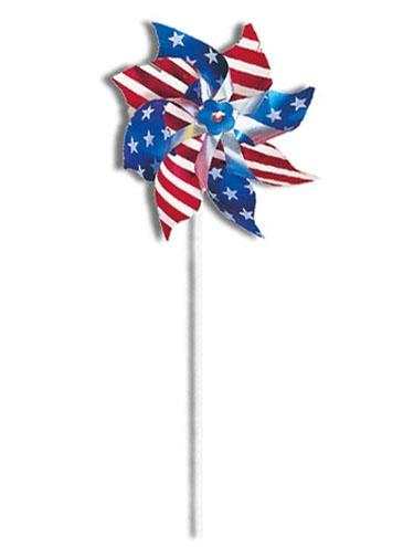 "6"" Stars &  Stripes Pinwheel"