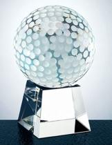 Optica Golf Ball On Square Base