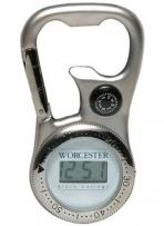 Carabiner Clip-On Digital Watch & Compass