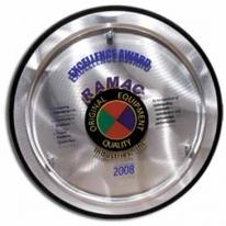 Round Alumo-Tech Plaque - Silkscreen