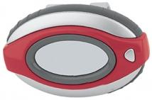 Oval Clip-On Pedometer/Clock