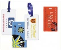 Insta-Lam Self-Laminating Luggage Tag