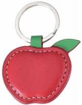 Red Apple Key Tag