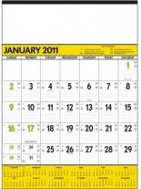 Yellow & Black Contractor\'s Memo (13-sheet)