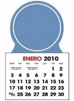 Spanish 2-Color Stick Up Calendar (13-Month)
