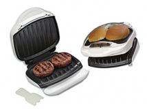 George Foreman Champ Grill With Bun Warmer