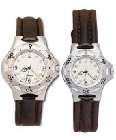 Pedre - Blazer Men's & Women's Silver-tone Watch