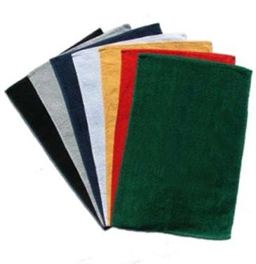"15"" X 25"" 1-ply Hemmed Velour Rally Towel - 2.2 Lbs"