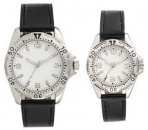 Pedre - Avalon Men's & Women's Silver-tone Watch