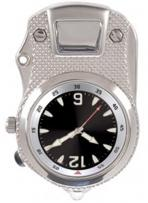 Pedre - The Hip Clip Unisex Silver-tone Clip-on Watch