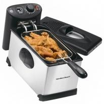 Hamilton Beach 12 Cup Oil Capacity Deep Fryer
