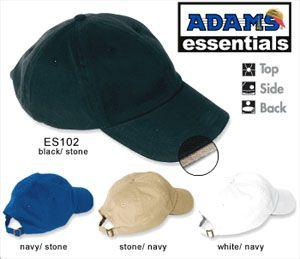 Essentials 6-Panel Low Profile Sandwich Bill Cap