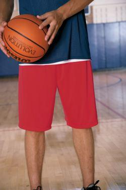 Men's 10-Inch Inseam Heavyweight Mesh Short