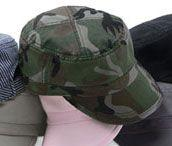 Bio-Washed Military Fidel Cap