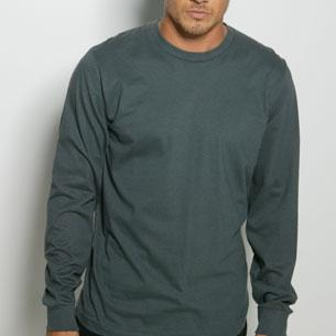 Men's Long Sleeve Fine Jersey Tee