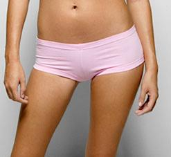 Cotton Spandex Jersey Hot Short