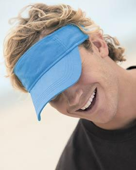 3-Panel Low-Profile Twill Visor