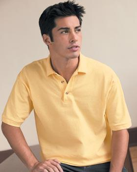 Cotton Deluxe Short Sleeve Pique Sport Shirt