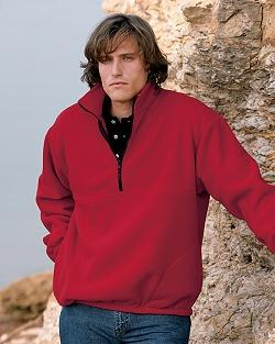 Wayne Men's Half-Zip Fleece Jacket
