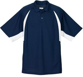 Wicking Textured Raglan Sleeve Sport Shirt
