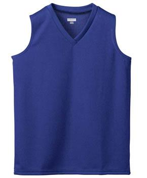 Ladies Wicking V-Neck Sleeveless Jersey