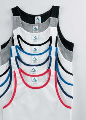 Ladies Cotton Lycra� Racerback Tank