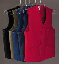 Chef Designs - V-neck Button-Front Vest