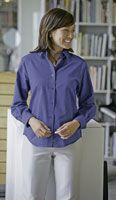 Ladies' Wrinkle-Free Color Rich Oxford Shirt